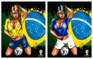 FiFA #2 Brazil by SeanyP40