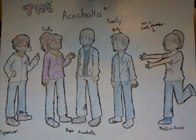 The Acachalla Family (part 1) by TheSilverPie