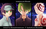 The Law of Ueki Plus: Sora, Ueki and Haichi by AlexanJ