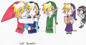 LoZ 4 Swordz by SilverRiku