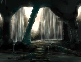Temple Cave by KalaSketch
