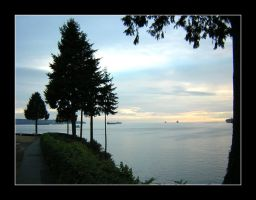 the Edge of Vancouver by hollyhox