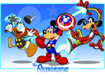 Disney Avengers by kudoze