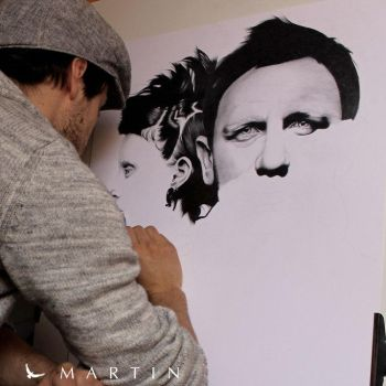 .: The girl with the dragon tattoo ~ WIP II :. by Martin--Art