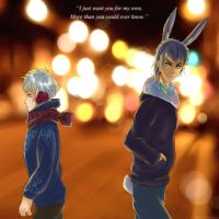 -All I want for Xmas is You- (JackRabbit)  Part 1 by KT-ExReplica