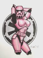 Pin-Up Trooper by emcdclxvi