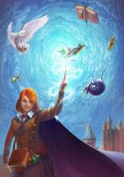 Game in Harry Potter by Lun-art