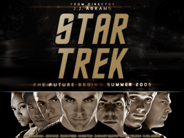 Star Trek XI Crew Wallpaper by cjmcguinness