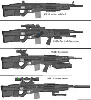 Military Weapon Variants 55 by Marksman104