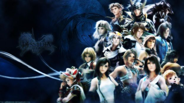 Dissidia 012 - Cosmos warriors by The-m00nriver