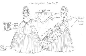 AWA 2012 Gown - 2.0 by thesilvermaiden