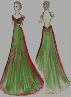 Oscar Gown by lilly-anne
