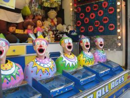 Clowns Five by girlpsychic