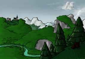 Landscape by TheMoub
