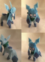 Commission Glaceon Plush~ by Latiasylveon
