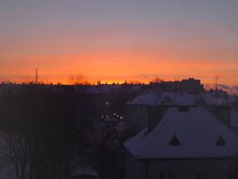 dawn at my district by rimis