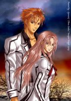 Vampire Knight-Kain+Ruka by syren007