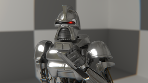 Cylon Knife by WhosWho23