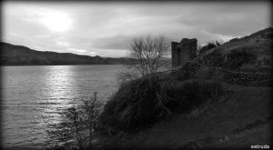 On The Banks Of Loch Ness by Estruda