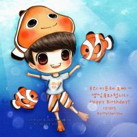 Happy Birthday Lee Donghae by MyCherishe
