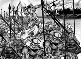 LOTR Saruman's Army by CamT