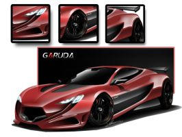GARUDA Coupe Concept by Adry53