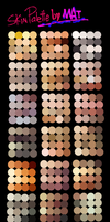 Skin Palette for MyPaint by MeryAlisonThompson