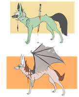Demonic Canine Adopts 4 (CLOSED) by DingoIconic