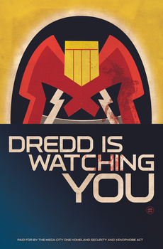 Judge Dredd R.I. cover by Superconvoy75