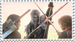 Angeal Sephiroth and Genesis by AxelPsycho835