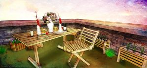Background Concept: Dream Afternoon by Buujang