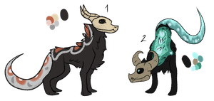 Dovakhan Design Adoptables [CLOSED] by LeahDragoness