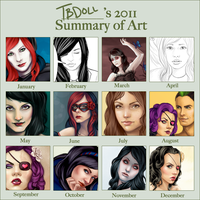 2011 Summary of Art by tbdoll