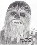Chewbacca Print by Blackheart115