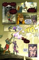 Rise of the Snakemen page 9 by JPRcolor