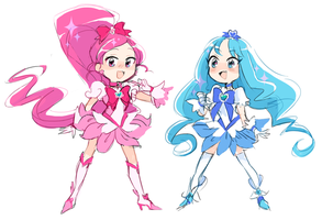 heartcatch precure by tricksterair