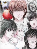 Death Note by Juli556