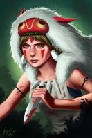 Princess Mononoke by munette