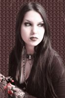 Gothic Beauty by VisualPoetress