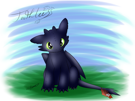 Toothless - How To Train Your Dragon by Xeirla