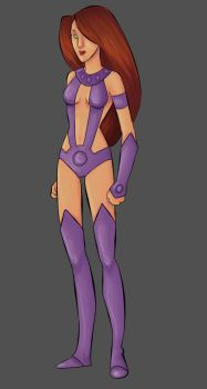 Starfire attempt number two by girl-of-fire