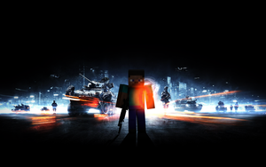 Minecraft bf3 by ickhugo