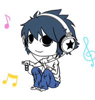 L and his Music by yaoi-is-everywhere