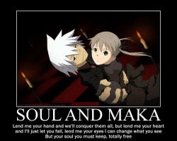 Soul and Maka by art4life217