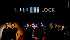 SuperWhoLock Wallpaper by rover24cat