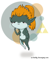 Chibi Midna by Isi-Daddy