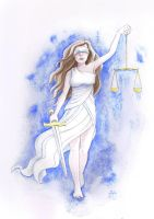 Justitia by yohunny