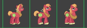 MLP Online Mig Macintosh by sanorace