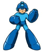 Mega Man by Thormeister