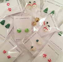 Polymer Clay Earrings Cute by anniscrafts